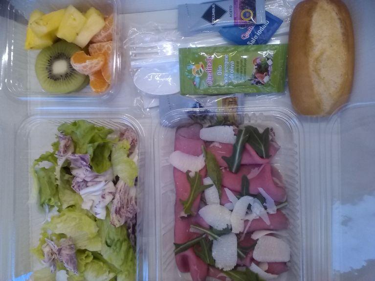 lunch dinner box giallo
